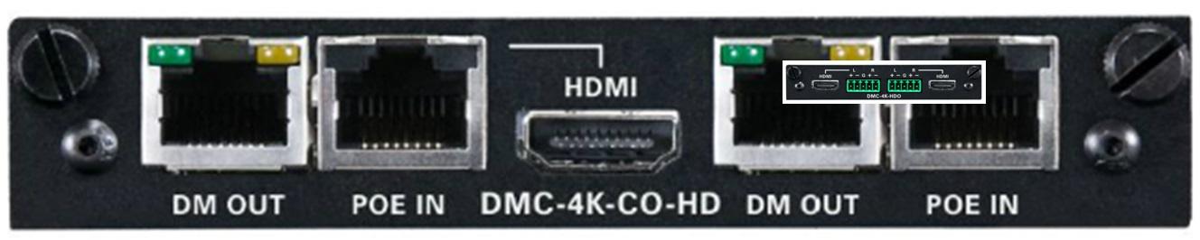 DMC-4K-CO-HD DM输出卡