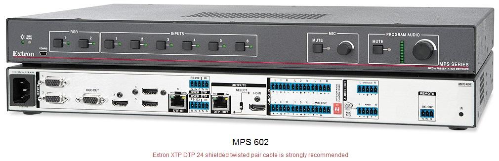 MPS 602 高清双绞线发送切换器